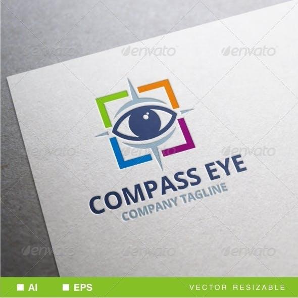 Compass Eye Logo