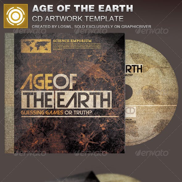 Age of the Earth CD Artwork Template