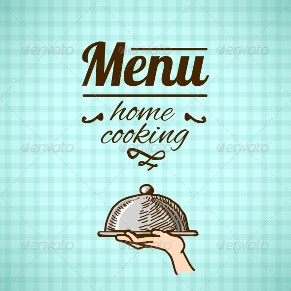Restaurant Menu Design Sketch - Food Objects