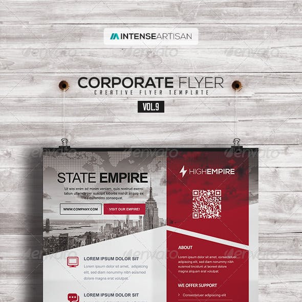 Corporate | Creative Poster | Flyer V.9
