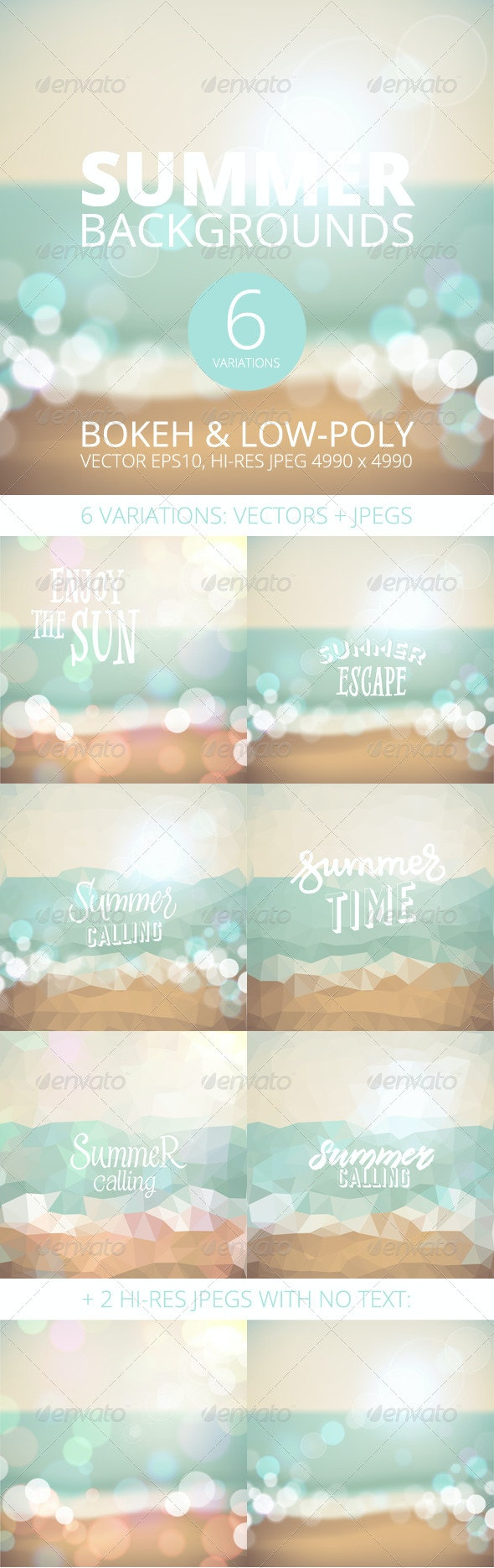 Summer Holiday Tropical Beach Background - Seasons/Holidays Conceptual