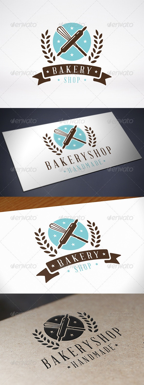 Bakery Logo Template - Food Logo Templates