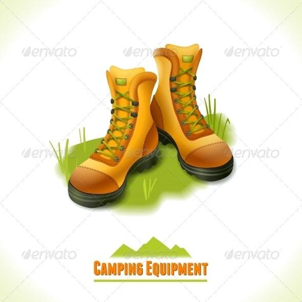 Boots Camping Symbol