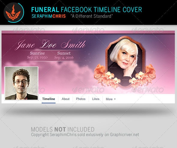 Funeral: Facebook Timeline Cover Template - Facebook Timeline Covers Social Media