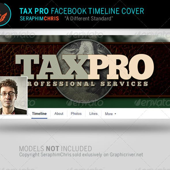 Tax Pro: Facebook Timeline Cover Template