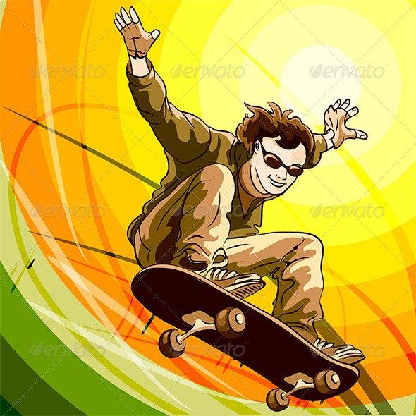 Easy Skater - Sports/Activity Conceptual