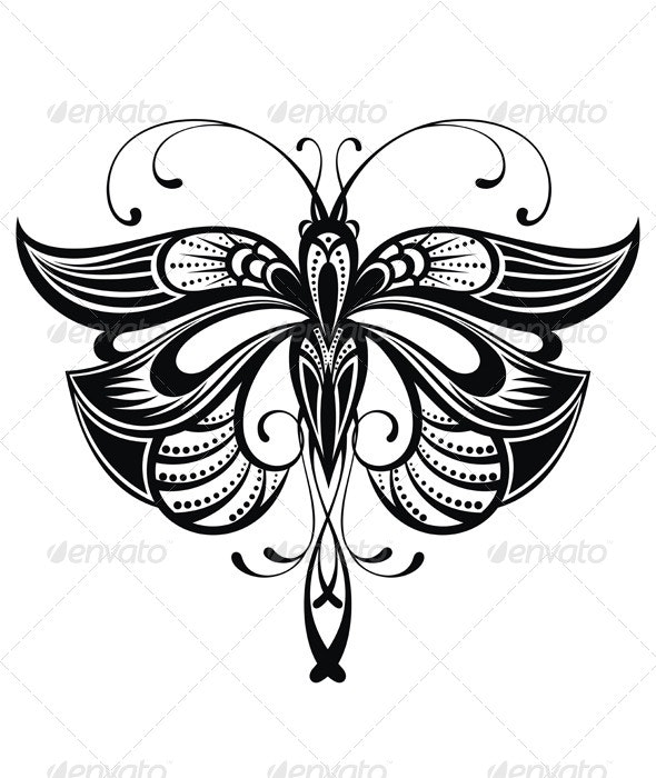 Butterfly - Decorative Vectors