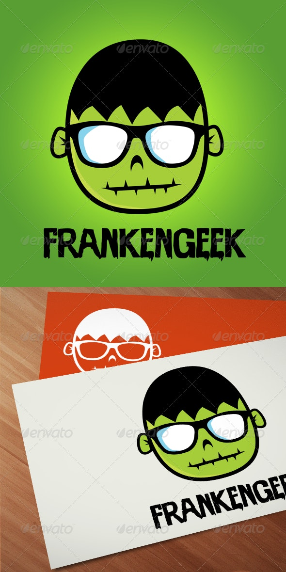 Frankengeek - Logo Templates - Humans Logo Templates