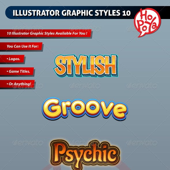 Illustrator Graphic Styles 10