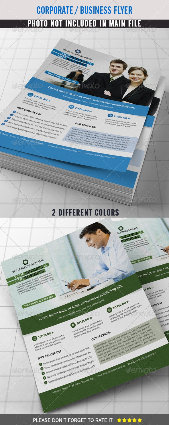 Corporate Flyer / Business Flyer - Corporate Flyers