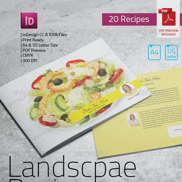 Landscape Recipe Book
