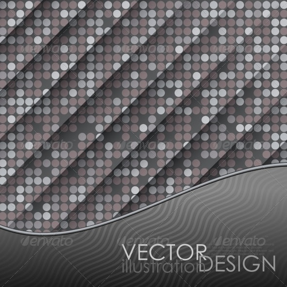 Seamless Grey Gquare Tiles Pattern - Backgrounds Decorative