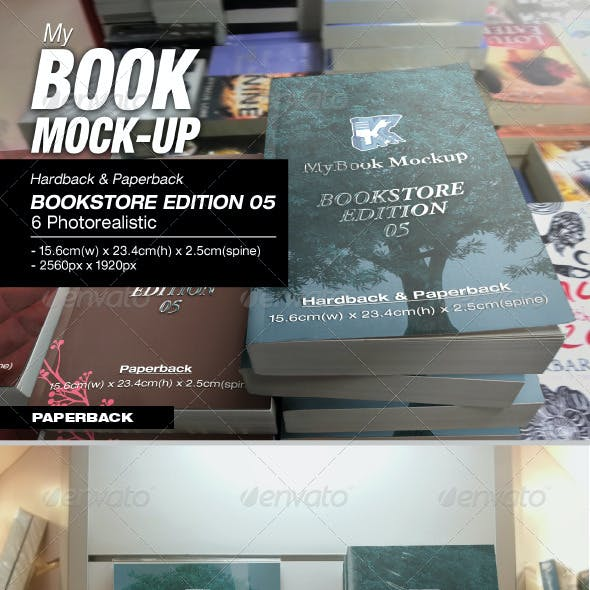 Bookstore Edition 05 Mock-up
