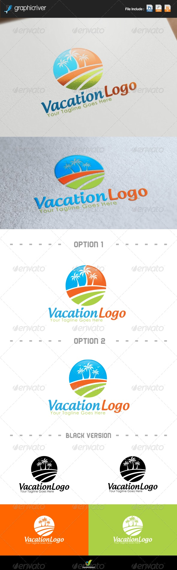 Vacations Logo - Symbols Logo Templates