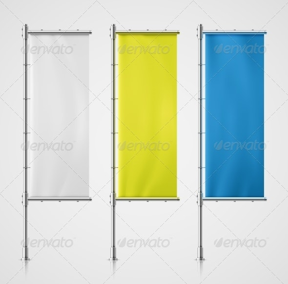 Banner Flag - Industries Business