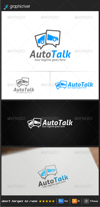 Auto Talk Logo Templates - Objects Logo Templates