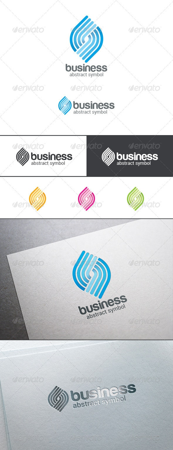 Labyrinth Maze Puzzle Rebus Logo Abstract - Abstract Logo Templates