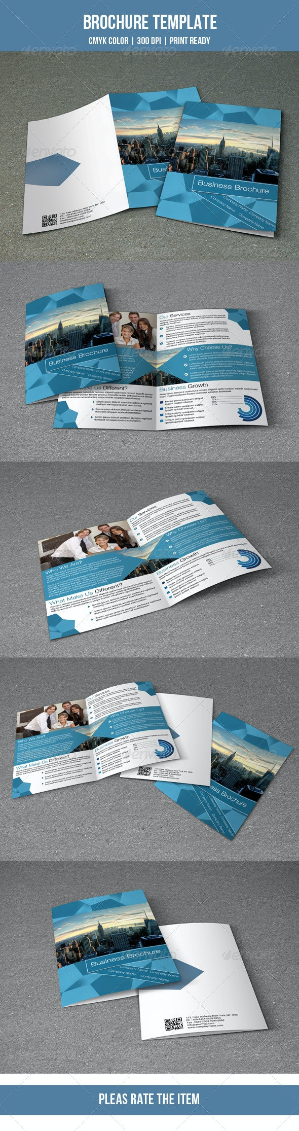 Corporate Brochure Template-V73 - Corporate Brochures