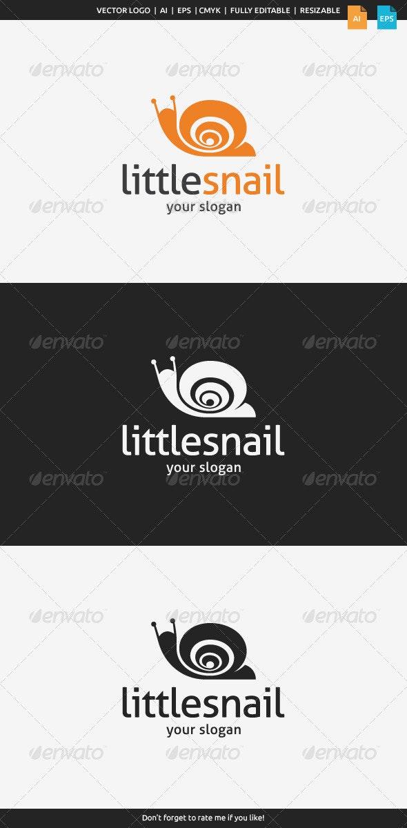 Little Snail Logo - Animals Logo Templates