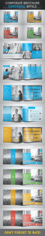 Corporate Brochure - Horizontal Bi-Fold - Corporate Brochures
