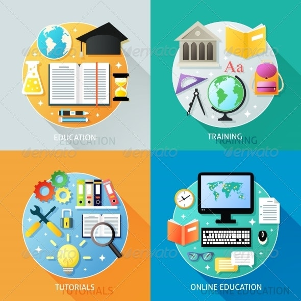 Business Education Concept - Industries Business