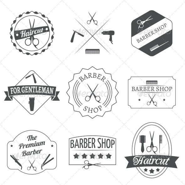 Hairdresser Label Set