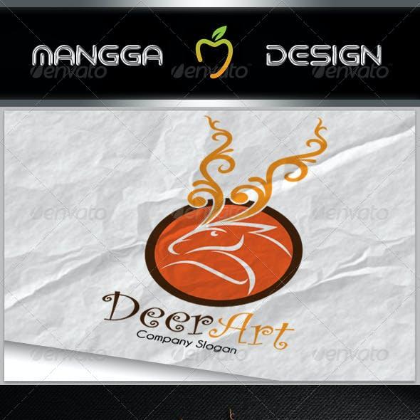 Deer Art Logo