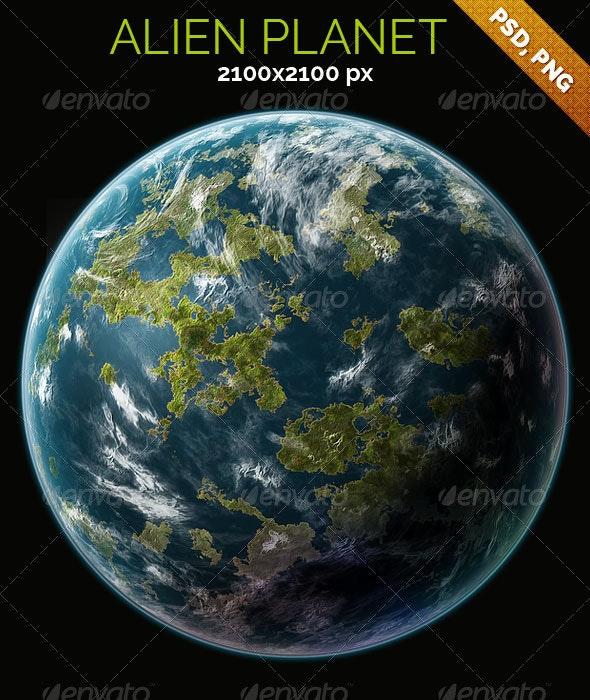 Alien Planet - Nature Backgrounds