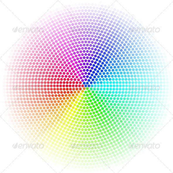Dots Digital Form - Backgrounds Decorative