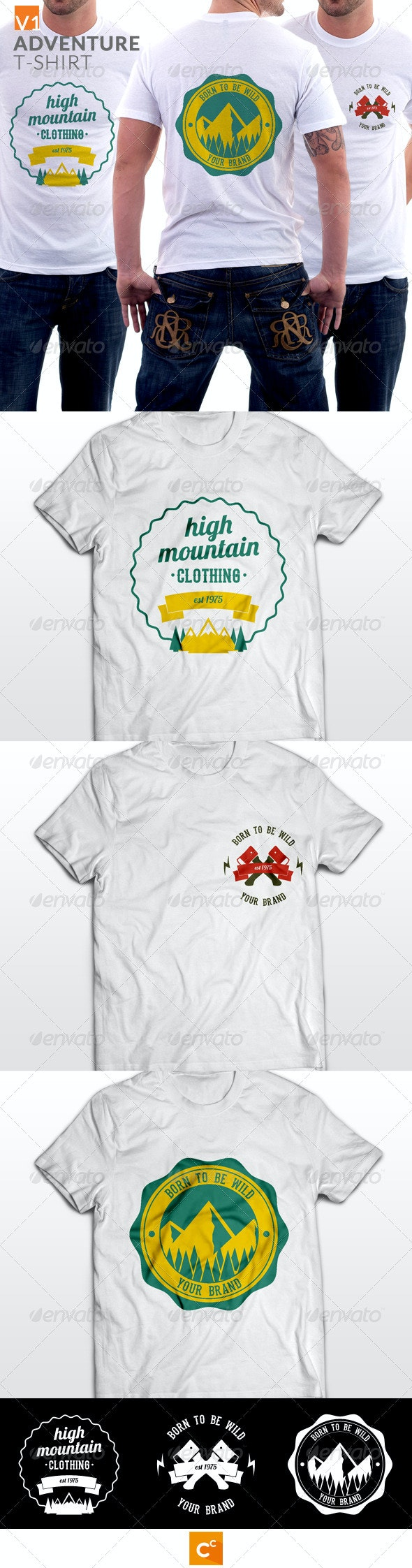 Badge Adventure T-shirt - Sports & Teams T-Shirts