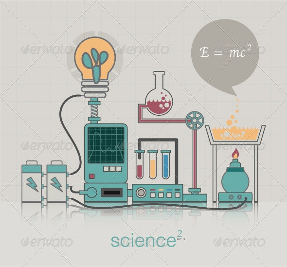 Science - Objects Vectors