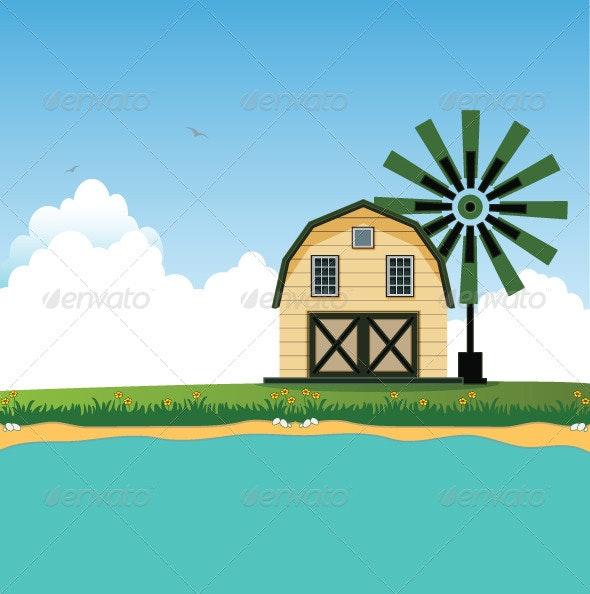 Barn - Buildings Objects