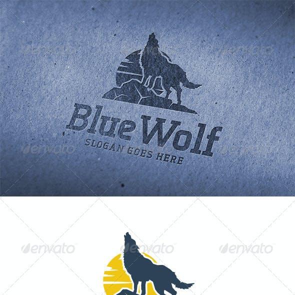 Blue Wolf Logo