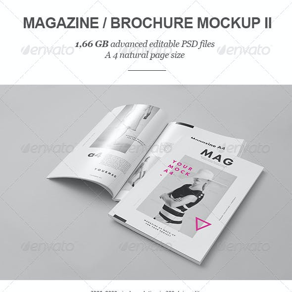 Magazine / Brochure Mock-up 2