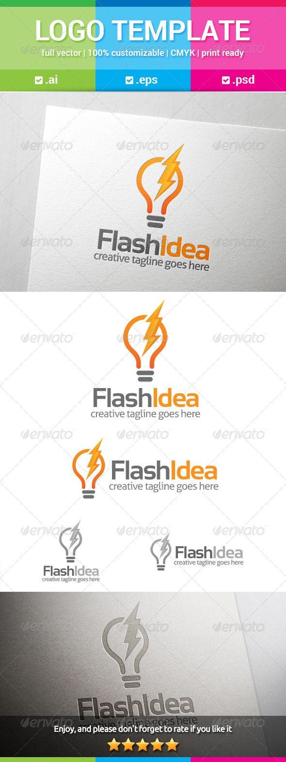 Flash Idea Logo - Symbols Logo Templates