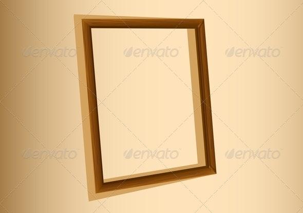 An Empty Frame - Borders Decorative