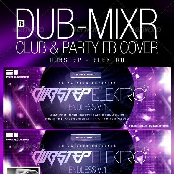 Dubstep DubMixr Party FB Cover