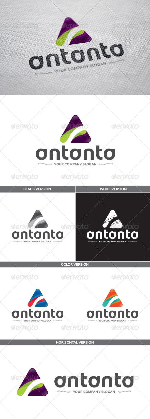 Antanta Logo - Letters Logo Templates