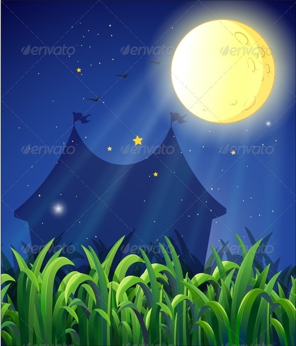 The Carnival at Night - Backgrounds Decorative
