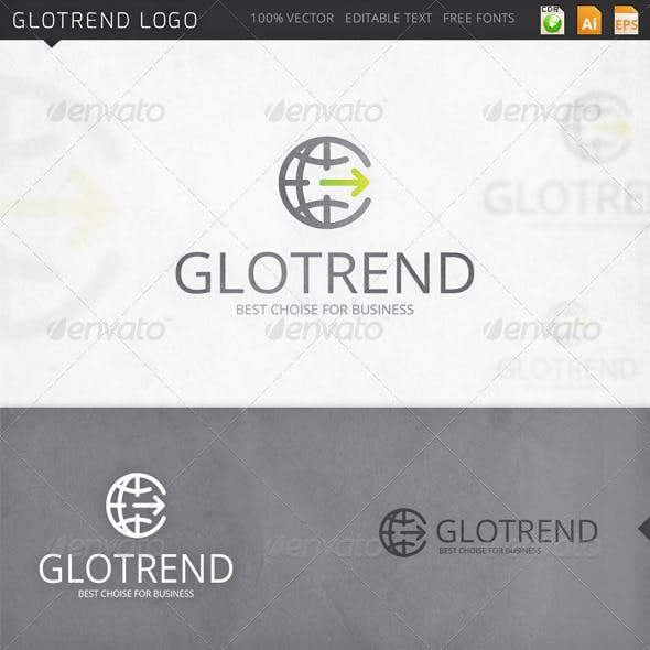 Glotrend Globe Logo Template
