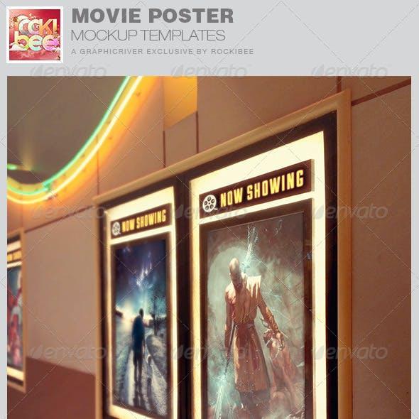 Movie Poster Mockup Templates