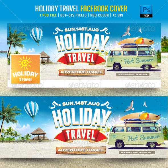 Holiday Travel Facebook Cover