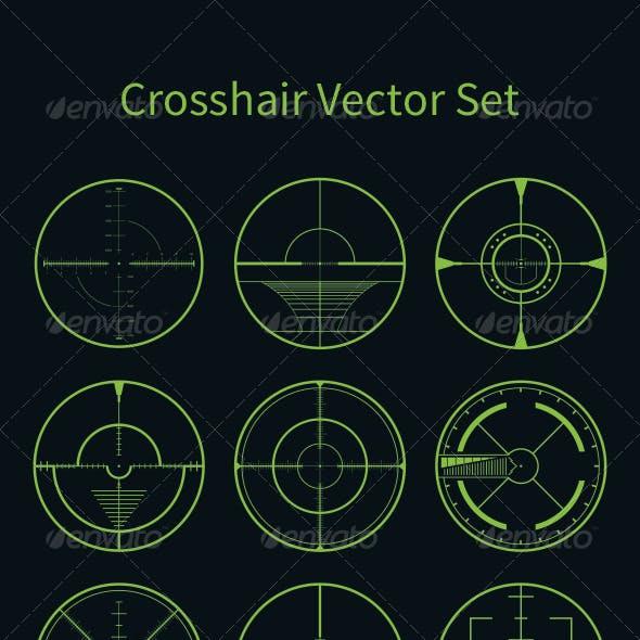 Crosshair Vector Set
