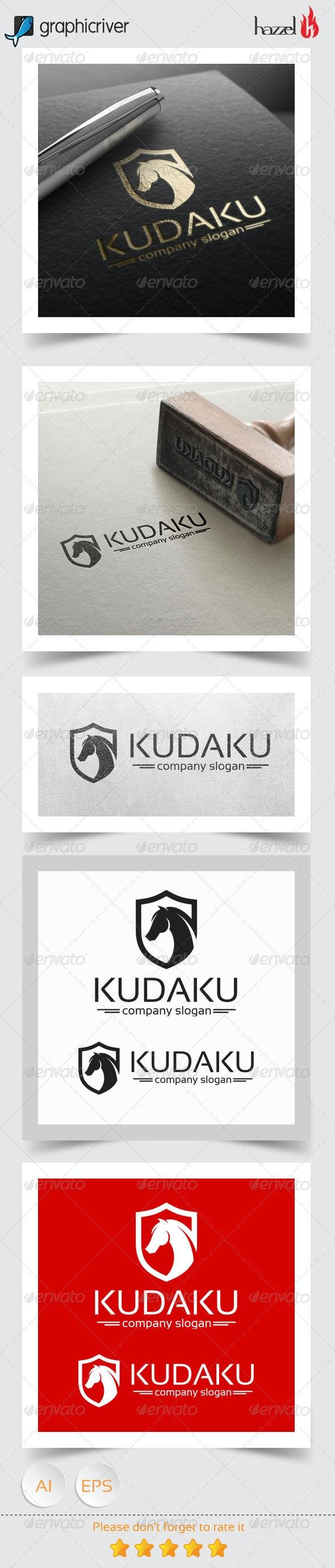 Kudaku Logo - Animals Logo Templates