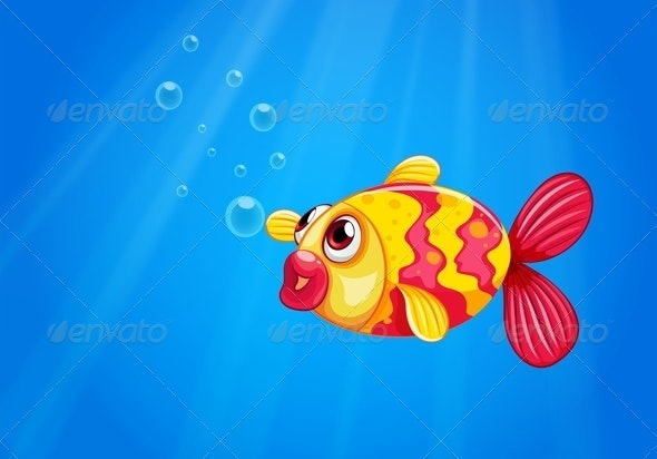 Fish in the Sea - Animals Characters