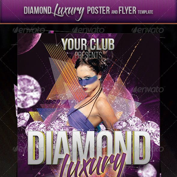 Diamond Luxury Flyer And Poster Template