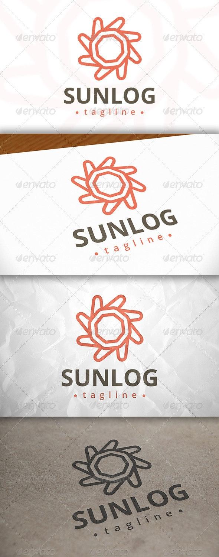 Sun Modern Logo - Nature Logo Templates