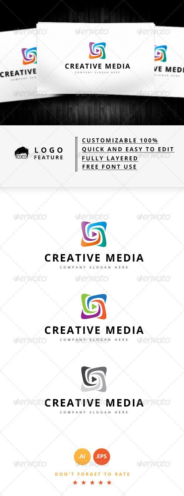 Creative Media Logo - Logo Templates