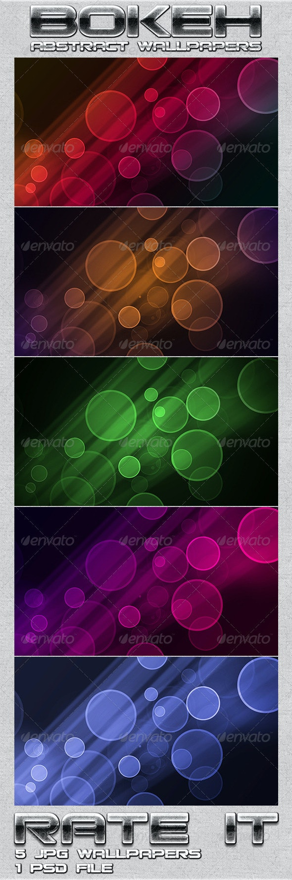 Bokeh Wallpaper  - Abstract Backgrounds