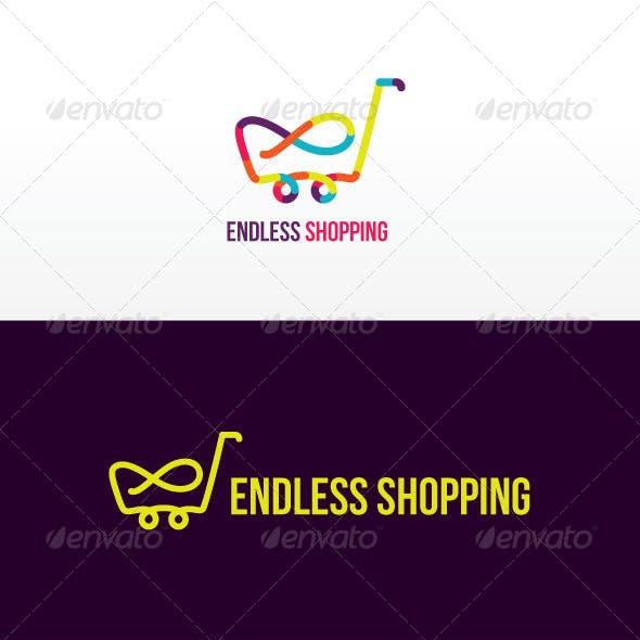 Endless Shopping Stock Logo Template